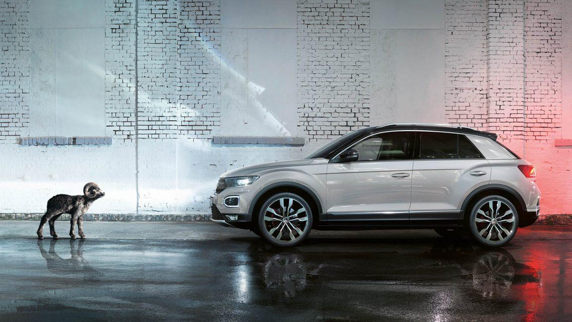 Nouveau Volkswagen T-Roc.