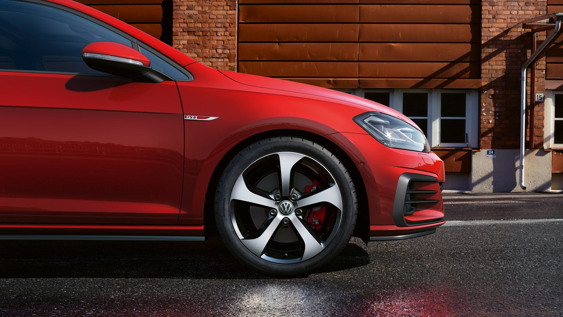 Nouvelle Golf GTI Performance.
