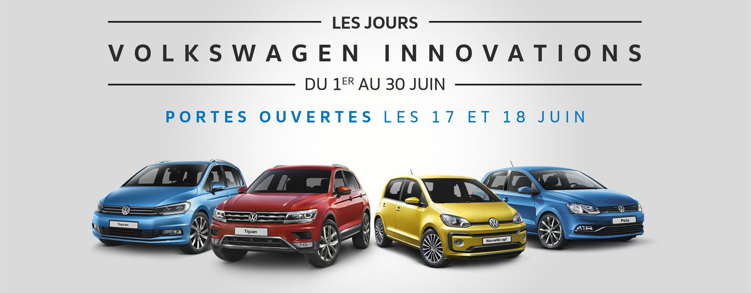 Les jours Volkswagen innovations